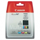 Canon originální ink 6509B009, CLI551, CMYK, blistr, Canon PIXMA iP7250, MG5450, MG6350, MG7550