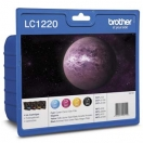Cartridge Brother LC-1220VALBP - CMYK, barevná inkoustová náplň do tiskárny