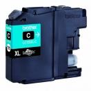 Cartridge Brother LC-125XLC - cyan, azurová inkoustová náplň do tiskárny