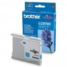 Cartridge Brother LC-970C - cyan, azurová inkoustová náplň do tiskárny