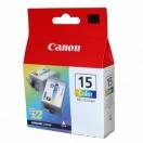 Cartridge Canon BCI15C - color, barevná inkoustová náplň do tiskárny, 2ks