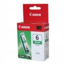 Cartridge Canon BCI6G - green, zelená inkoustová náplň do tiskárny