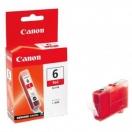 Cartridge Canon BCI6R - red, červená inkoustová náplň do tiskárny