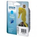 Cartridge Epson C13T048240 - cyan, azurová inkoustová náplň do tiskárny