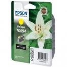 Cartridge Epson C13T059440 - yellow, žlutá inkoustová náplň do tiskárny