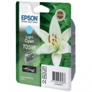 Cartridge Epson C13T059540 - light cyan, světle azurová inkoustová náplň do tiskárny