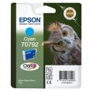 Cartridge Epson C13T079240 - cyan, azurová inkoustová náplň do tiskárny