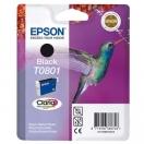 Cartridge Epson C13T08014011 - black, černá inkoustová náplň do tiskárny