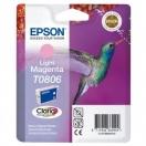 Cartridge Epson C13T08064011 - light magenta, purpurová inkoustová náplň do tiskárny