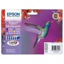Cartridge Epson C13T08074011 - CMYK/light C/light M, barevná inkoustová náplň do tiskárny