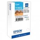 Cartridge Epson C13T70124010, XXL - cyan, azurová inkoustová náplň do tiskárny