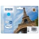 Cartridge Epson C13T70224010, XL - cyan, azurová inkoustová náplň do tiskárny