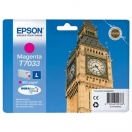 Cartridge Epson C13T70334010, L - magenta, purpurová inkoustová náplň do tiskárny