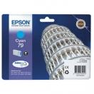 Cartridge Epson  C13T79124010, 79 - cyan, azurová inkoustová náplň do tiskárny
