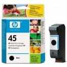 Cartridge HP 51645AE, č.45 - black, černá inkoustová náplň do tiskárny