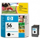 Cartridge HP  C6656AE, č.56 - black, černá inkoustová náplň do tiskárny