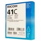 Cartridge Ricoh 405762, cyan, azurová inkoustová náplň