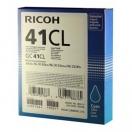 Cartridge Ricoh 405766 - cyan, azurová gelová náplň do tiskárny