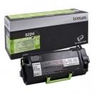 Lexmark originální toner 52D2H0E, black, 25000str., 522HE, Lexmark MS810 de, MS810 dn