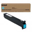 Toner Develop A0D74D3 cyan - azurová laserová náplň do tiskárny