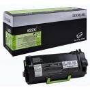 Toner Lexmark 52D2X00 - black, černá tonerová náplň do laserové tiskárny