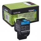 Toner Lexmark 70C2HC0 - cyan, azurová tonerová náplň do laserové tiskárny