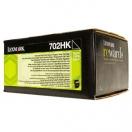 Toner Lexmark 70C2HK0 - black, černá tonerová náplň do laserové tiskárny