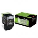 Toner Lexmark 80C2HK0 - black, černá tonerová náplň do laserové tiskárny
