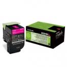 Toner Lexmark 80C2HM0 - magenta, purpurová tonerová náplň do laserové tiskárny