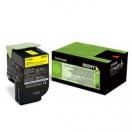 Toner Lexmark 80C2HY0 - yellow, žlutá tonerová náplň do laserové tiskárny