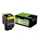 Toner Lexmark 80C2SY0 - yellow, žlutá tonerová náplň do laserové tiskárny
