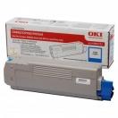 Toner OKI 43865723 cyan - azurová laserová náplň do tiskárny