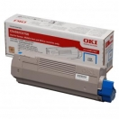 Toner OKI 43872307 cyan - azurová laserová náplň do tiskárny
